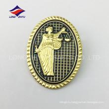 Нежный мода цинка сплав ткань мягкий pin отворотом эмали