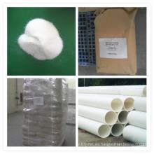 Polvo clorado de polivinilo clorado