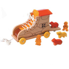 Wooden Playful Push & Pull Spielzeug