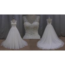 Flores de tecido de China de vestido de casamento para casamento