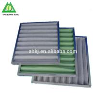 Preiswerter waschbarer synthetischer Faser-Plissee-Luftstrom-Platten-Luftfilter