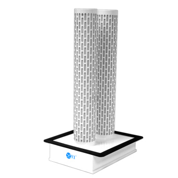 Dual-duct Air Inlet System Purifying Air Purifier