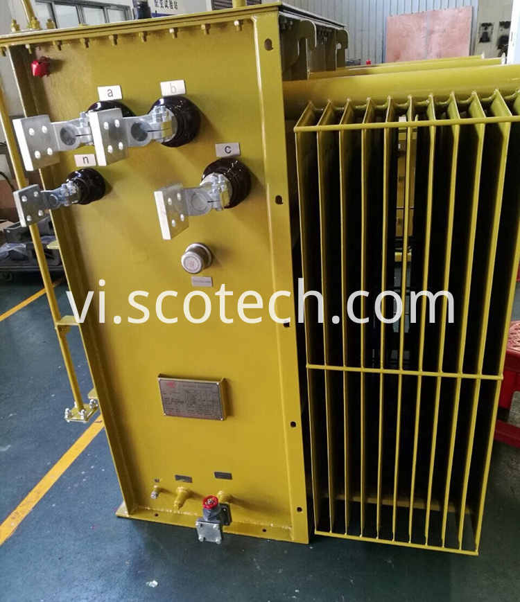 Miniature Substation Transformer Lv Side