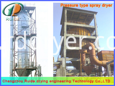 Spirulina spray drying tower