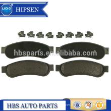 Kit de pastilhas de freio traseiro OEM # AC3Z2200B para ford 2008-2012 F250 F350 F450 F550 SD