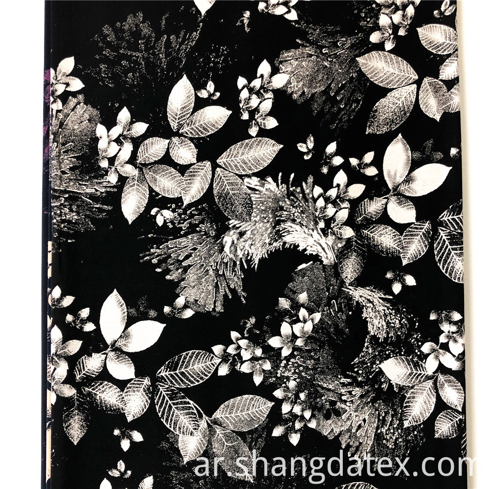 Soft Good Quality Rayon Discharge Printed