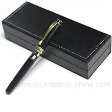 Superior Metal Shell Schwarz Pen Set für Business Geschenk
