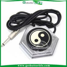 getbetterlife 2014 estilo chino clásico 360 ronda pedal de pie del tatuaje con el enchufe de cable largo