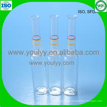 Breaking Ring Clear Glass Ampoule