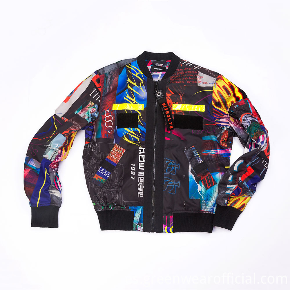 High Quality printing jacket