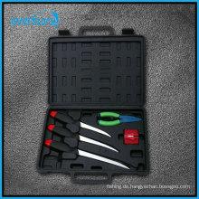 5 Angeln Besteck Angeln Werkzeug Set mit Füllmesser, Pillar und Schärfen