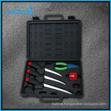 5 Fishing Cutlery Fishing Tool Set with Filling Knife, Pillar, and Sharpen