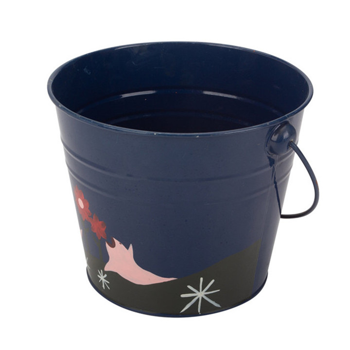 Navy Blue Water Bucket