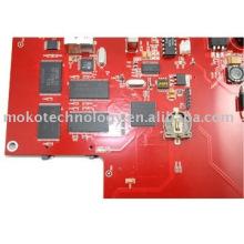 PCBA com componentes azedando