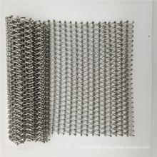 stainless steel wire mesh spiral conveyor belt