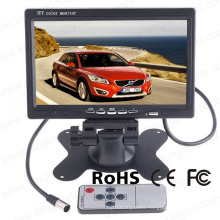 7 Inches LCD Digital Screem Reversing Headrest Rearview Monitor