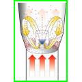 Pharma-Trockner Kleiner gebrauchter Wirbelschicht-Granulator und -Beschichter