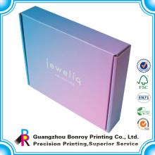 OEM Order Custom Cardboard Cotton pink shipping boxes