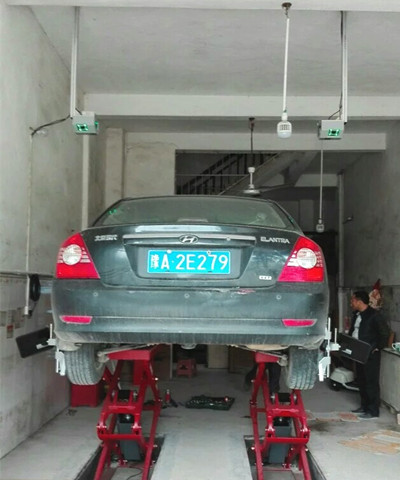 Fast Test Wheel Alignment