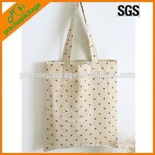 Werbe-Einkaufstasche aus Baumwolle für Lebensmittel
