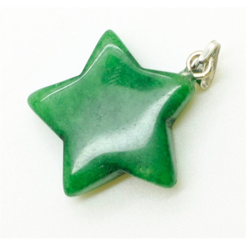 Star Shape Green Aventurine pendant