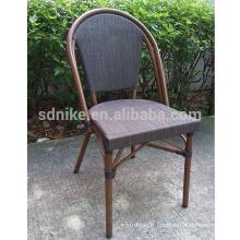 TC- (6) Chaise moderne en tissu teslin / chaise à manger en textile