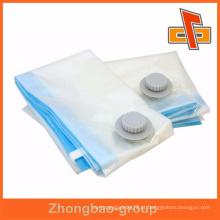 Fabricante de vácuo personalizado de alta qualidade comprimido saco para roupas ou alimentos