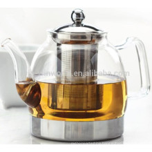 2018 Top Selling Chinese Antique Handblown Clear Heat Resistant Glass Teapot