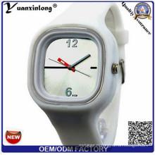 Yxl-111 часы подарок Промотирования горячие продажи желе дамы женщины часы подарок конфеты Цвет Повседневная мода спортивные мужские