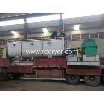 Chemical Slurry Hollow Shaft Paddle Dryer for Electroplating Sludge