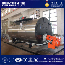 Small Capacity 100KG Vertical Type Oil Gas Fired Industry Steam Boiler
