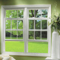 American style vertical sliding window/american style upvc window/bathroom sliding windows