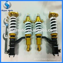 Adjustable shock absorber for Honda Saab vw