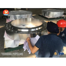 Pièce forgéee FVC de bride d'ASME SA182 F321H, RTJ HB (arrêt de noix) pour l'industrie chimique