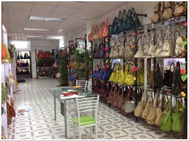 Woven Handbags Sample Room