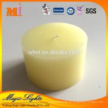 Dekoration China Professionelle Produzieren Haushaltsgebrauch Duftende Gelbe Säule Kerze