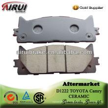D1222 toyota camry semi-metallic бесплатная доставка тормозной колодки для образца
