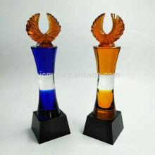 Последний дизайн привлекательная цена на заказ кристалл трофей награды