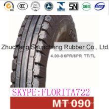 Pneu de Tube de moto et les pneus (4.00-8)