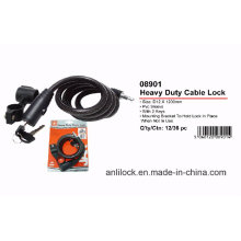 Bike Lock, Cable Lock, Bicycle Lock (AL08901)