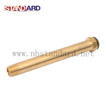 Gas Fitting Long Pipe with NPT Thread