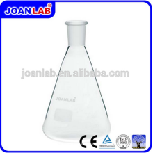 JOAN Lab Glass Erlenmeyer Frasco Con Estándar Joint