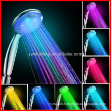 Bathroom Accessory Hand Held Shower Bathroom LED Light Hand Shower Head