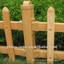 WPC-Hürde-Zaun
