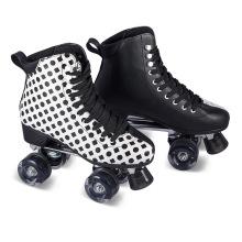 Soft Boot Quad Roller Skate para adultos (QS-46)