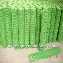 3'x100 'CADA RODILLO vinilo de acero de bajo carbono y revestimiento de PVC soldado malla