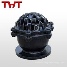 Medium tempertuare 4 inches aluminum pneumactic control emergency foot valve