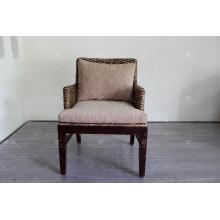 Exclusivo diseño interior de agua Jacinto café té o comedor silla para interiores muebles naturales