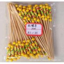 Bamboo Double Bead Stick