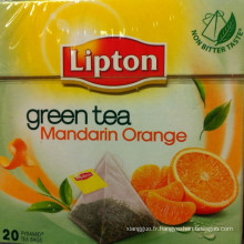 Leptine thé vert thé Orange Mandarine